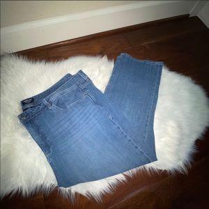 NYDJ Curves 360 Shape Skinny Jeans Size 28